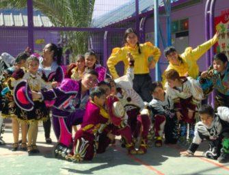 En escuela María Luz Lanza Pizarro de Copiapó cierran exitoso mes andino Amaru Panqara