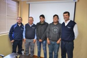 Estudiantes de Vallenar culminan su periodo de formación dual en Guacolda