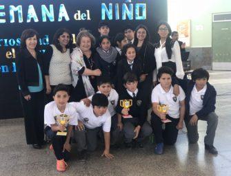 Estudiantes de Escuela rural San Pedro ganaron certamen de robótica realizado en La Serena